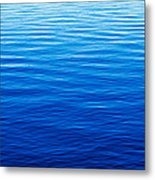 These Are Water Reflections In Lake Metal Print