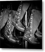 These Boots Were Made For Walking Metal Print