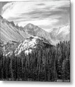 These Mountains Metal Print