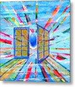 These Open Doors Metal Print