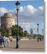 Thessaloniki City  Metal Print