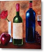 Thicker Than Wine Metal Print