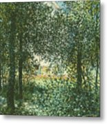 Thicket  The House Of Argenteuil Metal Print