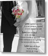 Things To Remember About Love - Black And White #3 Metal Print