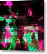 Think Pink For A Cure Metal Print