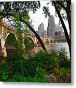 Third Avenue Bridge Metal Print