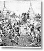 Third Burmese War, 1885 Metal Print