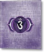 Third Eye Chakra - Awareness Metal Print