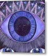 Third Eye Chakra Metal Print