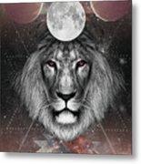 Third Eye Lion Vision Metal Print