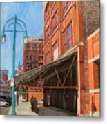 Third Ward - Broadway Awning Metal Print