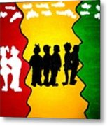 Thirdworld Kids Metal Print