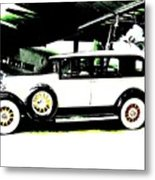 Thirties Packard Limo Metal Print