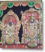 Thirupathi Metal Print
