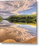 This Is British Columbia No.28 - Conkle Lake Metal Print