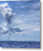 This Is The Philippines No.11 - Towering Clouds Metal Print