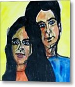 This Is Us--thanks To Mark Knopfler And Emmy Lou Harris Metal Print