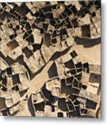 This Old Salt Slab Town In Dirkou Metal Print