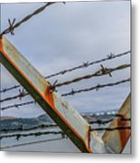 This Side Of The Fence Metal Print