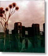 Thistle Manor Metal Print
