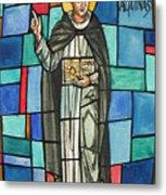 Thomas Aquinas Italian Philosopher Metal Print by Photo Researchers