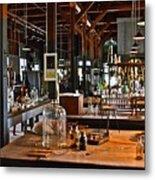 Thomas Edison Lab, #3 Metal Print