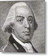 Thomas Gage, 1719 To1787. British Metal Print