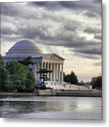 Thomas Jefferson Memorial Metal Print by Gene Sizemore