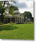 Thomas Jefferson's Monticello Metal Print by Bill Cannon