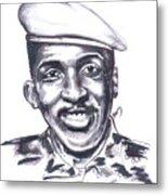 Thomas Sankara 02 Metal Print