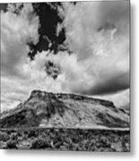 Thompson Springs Gathering Thunderstorm - Utah Metal Print