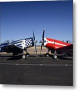 Thompson Trophy Goodyear F2g Corsair Reunion Falcon Field Arizona December 27 2011 Metal Print by Brian Lockett