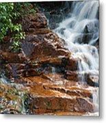 Thoreau Falls - White Mountains New Hampshire  Metal Print by Erin Paul Donovan
