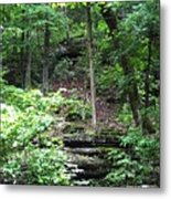 Thorncrown Chapel Setting In The Ozark Mountains Metal Print