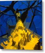 Thorny Tree Blue Sky Metal Print