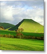 Thorpe Cloud From Bunster Hill Metal Print
