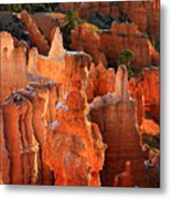 Thor's Hammer At Sunrise In Bryce Canyon Metal Print