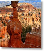 Thor's Hammer In Bryce Canyon Metal Print