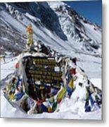 Thorong La Pass, Annapurna Circuit, Nepal Metal Print
