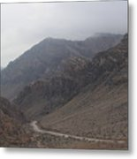 Those Mountains Metal Print