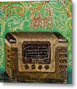 Those Old Tunes- II Metal Print