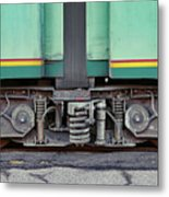 Those Wheels Keep On Turning In Rome Italy Metal Print