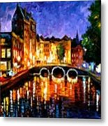 Thoughtful Amsterdam Metal Print