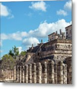 Thousand Columns And Temple Of The Warriors Metal Print