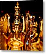 Thousand Hands Buddha Metal Print