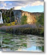 Thousand Springs Idaho Metal Print