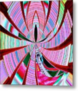 Threading The Needle Metal Print