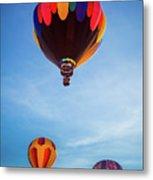 Three Balloons Metal Print