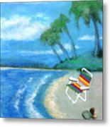 Three Beaches B Metal Print
