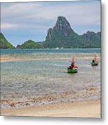 Three Boats Thailand Metal Print